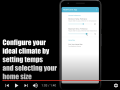 Screenshot from the demo video for a student app