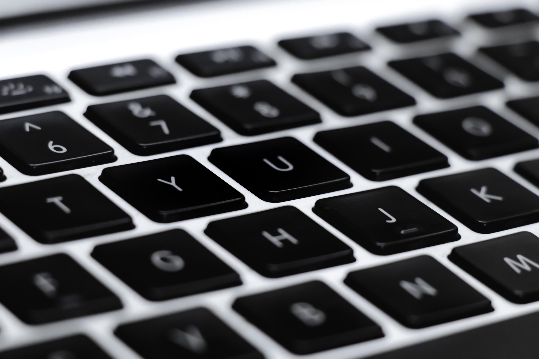 close-up of a keyboard